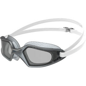 speedo Hydropulse Goggles white/elephant/light smoke